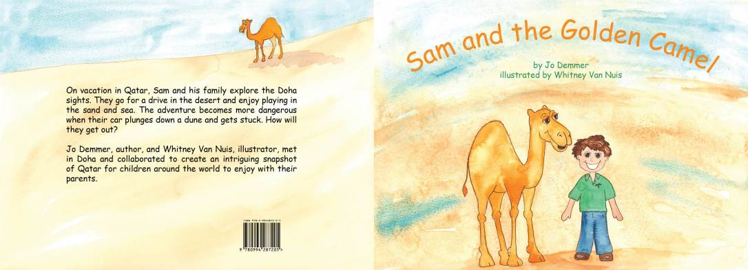 Sam and the Golden Camel Cover Final