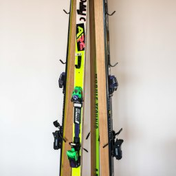 DIY Project Two: Ski Coat Rack